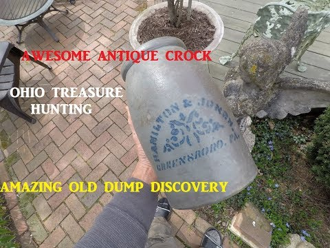 Ohio Treasure Hunting AWESOME DISCOVERY Archaeology Bottles
