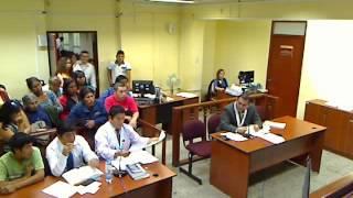 AUDIENCIA DE PRISIÓN PREVENTIVA INFUNDADA - CHIMBOTE