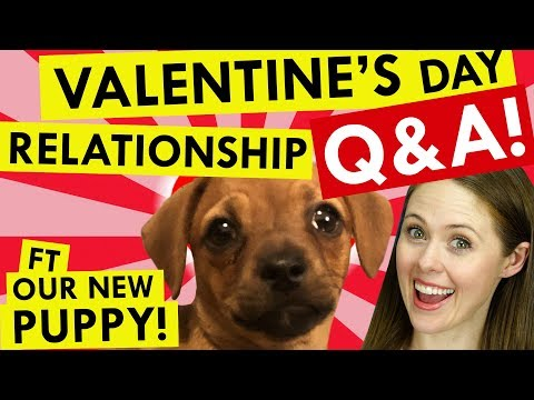 How to ADHD Valentine's Day Relationship Q&A (plus puppy!!!)