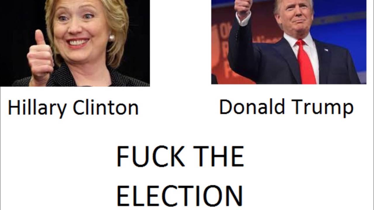 Donald Trump Fucking Hillary Clinton