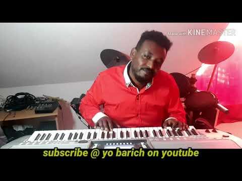 Ethiopian Music yonaddis plays Drum & Keyboard cover /የ ሁለት ምርጥ ዜማዎች ቅኝት