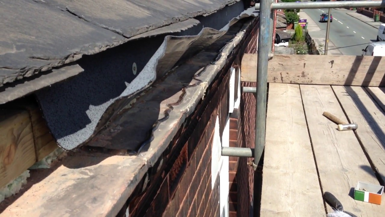 Gutter Leaking Over The Top Roof And Gutter Repair
