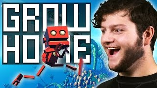 GROW HOME - This game is magical! (Funny Moments)