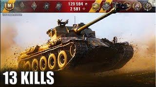 13 фрагов за бой на Lorraine 40 t 🌟🌟🌟 World of Tanks лучший бой на прем ст лора 40т wot