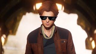 Star Wars Battlefront 2 Funny & Random Moments [FUNTAGE] #90 - Level 500 Han Solo!
