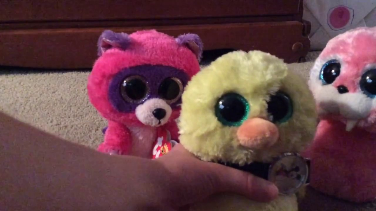 Roxie and Tusk tie Beanie Boo Kid s watch around Nugget s Neck ... 00a23b3a60b9