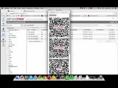 DHC QR Code Generator for SNow - App. Demo (7 mins)