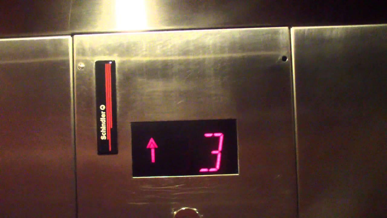 2000 Schindler MT Hydraulic Elevators Hilton Garden Inn