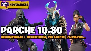 ALL NEWS OF PATCH 10.30! REWARDS + FORTNITE SAVE THE WORLD SPANISH GUIDE