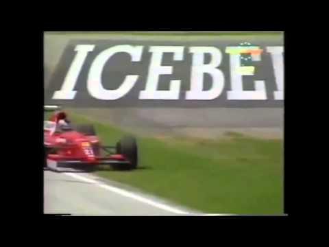 JJ Lehto spin 1992 San Marino GP Qualifying