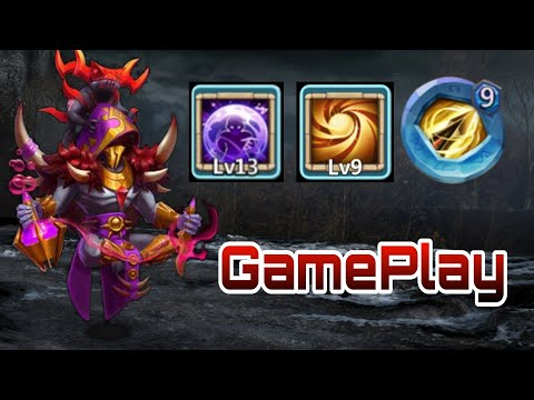 Occultist | Gameplay | 9/9 Sacred Light | 9 Zealous | Dodge Traits | Castle Clash