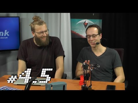 c't uplink 4.5: Roboter-Arm, neue Facebook-AGBs, edle Phablets