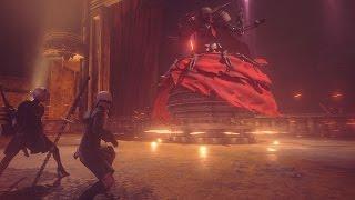 NieR:Automata/ニーア オートマタ: Boss Battle ゲームプレイ映像