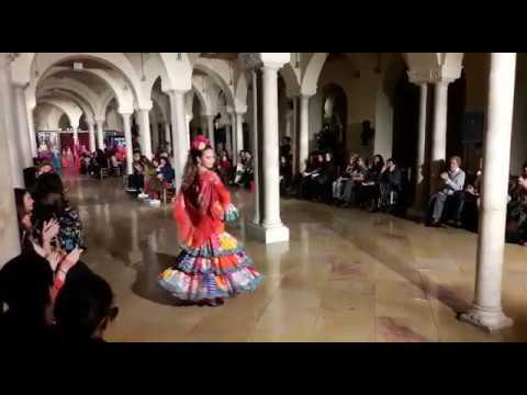 Desfile de Flamenca Pol Núñez en VIVA by We Love Flamenco