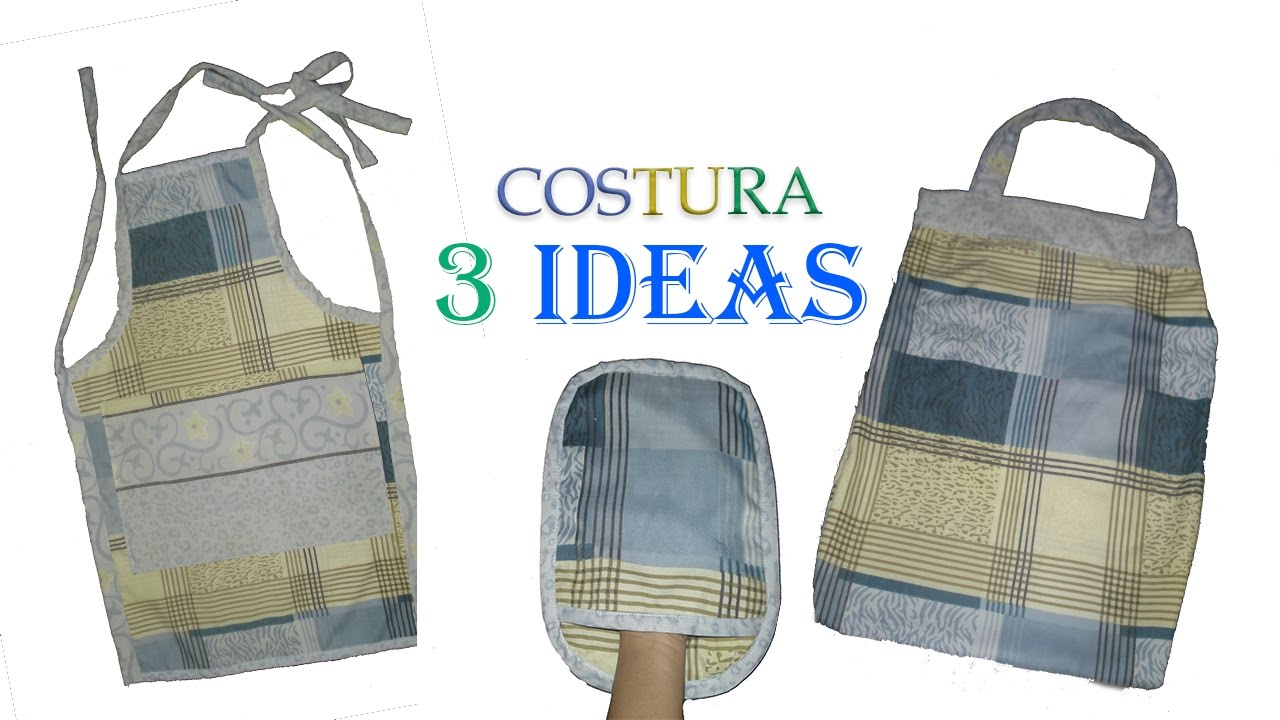 3 IDEAS PARA REGALAR | DIA DE LAS MADRES | COSTURA - YouTube