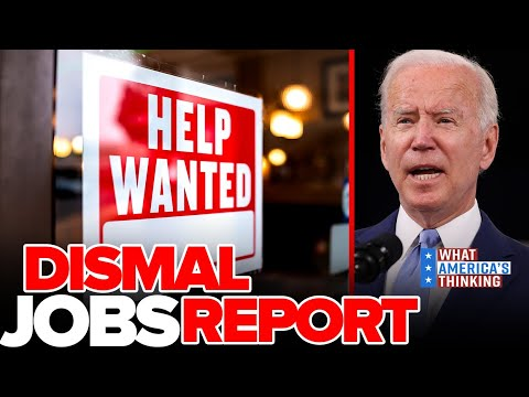 Download Dismal Jobs Report Frustrates WH, Voters Turn Down Work Over LOW Wages, Not Unemployment Benefits