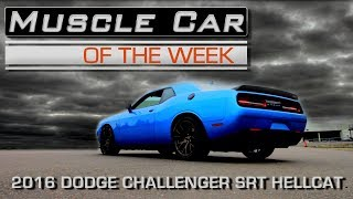 2016 Dodge Challenger SRT Hellcat Muscle Car Of The Week Video Episode #218 V8TV