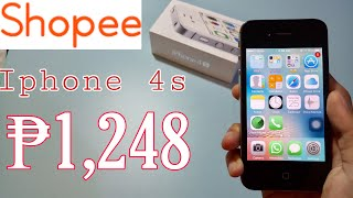 Gambar cover iPHONE 4s in 2019? Worth it ba? - Unboxing || SHOPEE