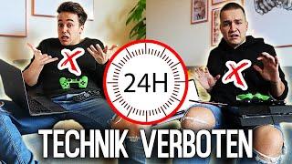24 STUNDEN ohne TECHNIK überleben! 📵   Max und Chris
