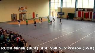 U15 girls. FINAL K02. Lajkonik cup 2017. SSK SLS Presov (SVK) - RCOR Minsk (BLR) - 7:7 (1st half)