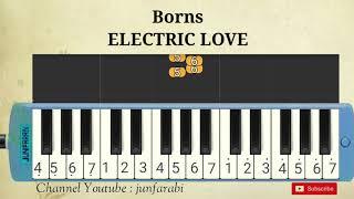 Borns - ELECTRIC LOVE - instrumental melodika