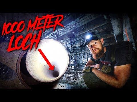 1.000 METER LOCH in verlassenem Bergwerk - 68 Sekunden freier Fall - LOST PLACES | Fritz Meinecke