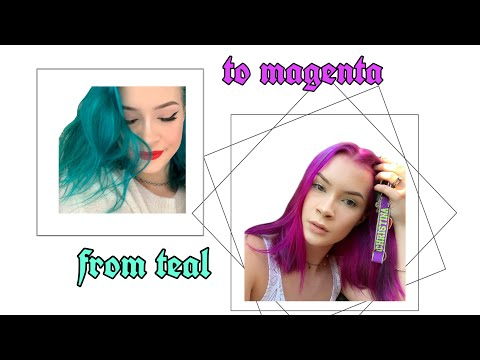 how i got blue dye out of my hair