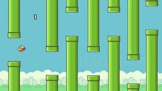 Repeat youtube video Flappy Bird Meets Mario - World Record High Score 999 (The Last Level)