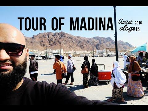 *UMRAH 2016* VLOG #15 – TOUR OF MADINA