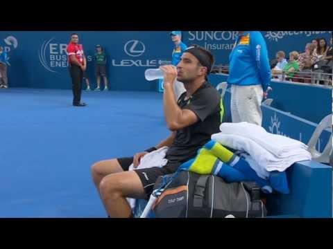 Marinko Matosevic v Kei Nishikori - Full Match Men's Singles Round 1: Brisbane International 2013