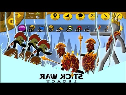 Stick War: Legacy New Update Skin LAVA In The Mirror | GamePlay (Part 66) 2018 FHD