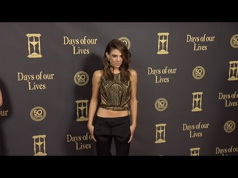 Kate Mansi Red Carpet Style at Days of Our Lives 50 Anniversary Party