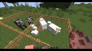 Minecraft hayvan çiftlikleri yapımı ve çiftleştirme