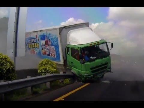 Compilation D'accident De Camion Et De Bus N°14 | Best Truck And Bus Crashes