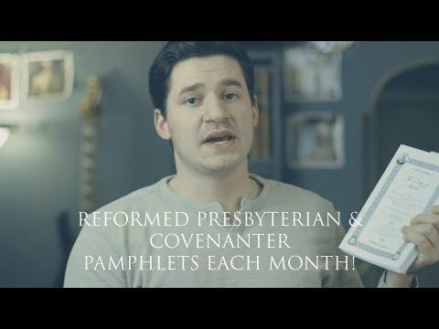 Covenanter Monthly Reformed Presbyterian Pamphlets