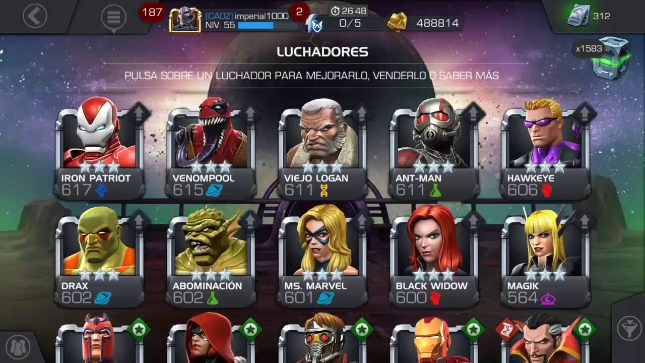 Marvel Batalla De Superheroes Para Que Sirve El Prestigio Y Porque No Ganas El Catalizador De Clase Youtube