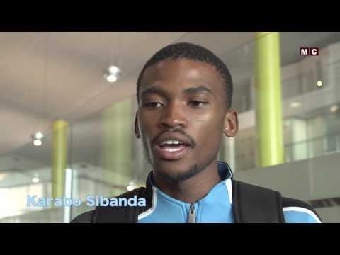 Karabo Sibanda Leaving for Rio Olympics, 2016
