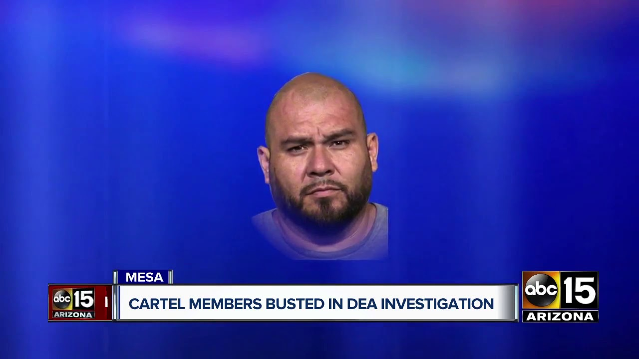 Multiple cartel members arrested around the Valley after