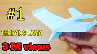 Origami Pesawat Terbang Lama Dan Jauh