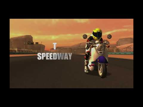 Motorcycle racing game experience |