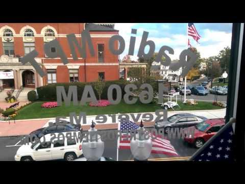 Radio Station Studio Tour VIDEO 1630 AM Revere Ma.