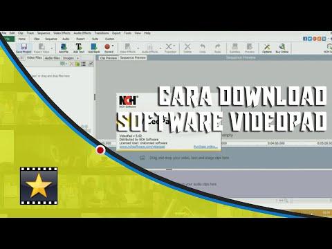 Cara Download Aplikasi VideoPad
