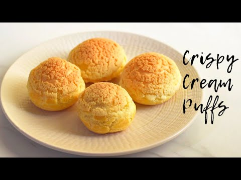 how-to-make-cream-puffs-with-craqueline-/-easy-cream-puff-recipe-with-craqueline