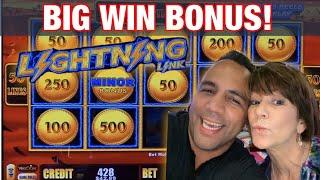 Lightning Link ⚡️ w/Cathy! | BIG WIN BONUS!!! 👑🎉 💰 🎰