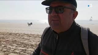 Charente-Maritime : nettoyage des plages à St-Palais-sur-Mer