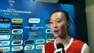 05-10-2014: Intervista a Hui Ruoqi nel post Italia-Cina