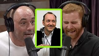 """Joe Rogan Calls BS on 18 Year-Old  Sexually """"Assaulted""""  by Kevin Spacey"""