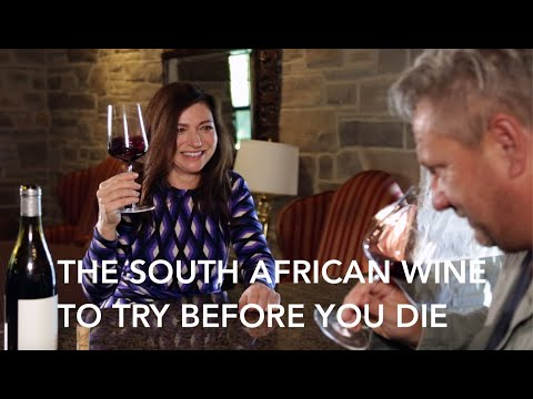 Sommelier Tastes One Of South Africa's Best Wines