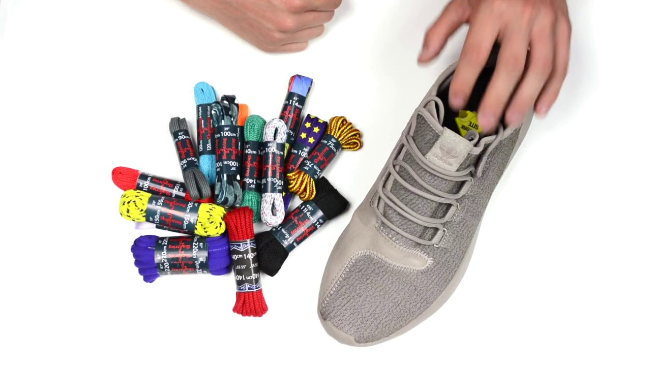 How to replace the original shoelaces on your trainers