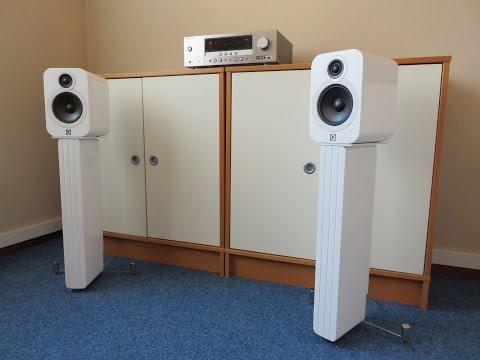 My Q Acoustics 2020i's dancing to Rock It